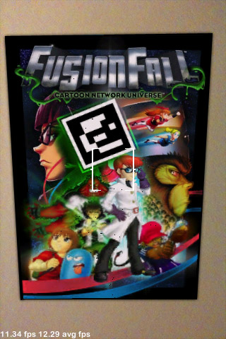 Fusion Fall poster fuse monster emerging